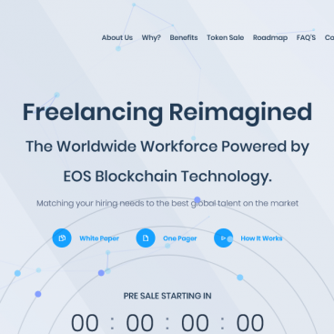 Crypto currency website customized by freelancer mannan